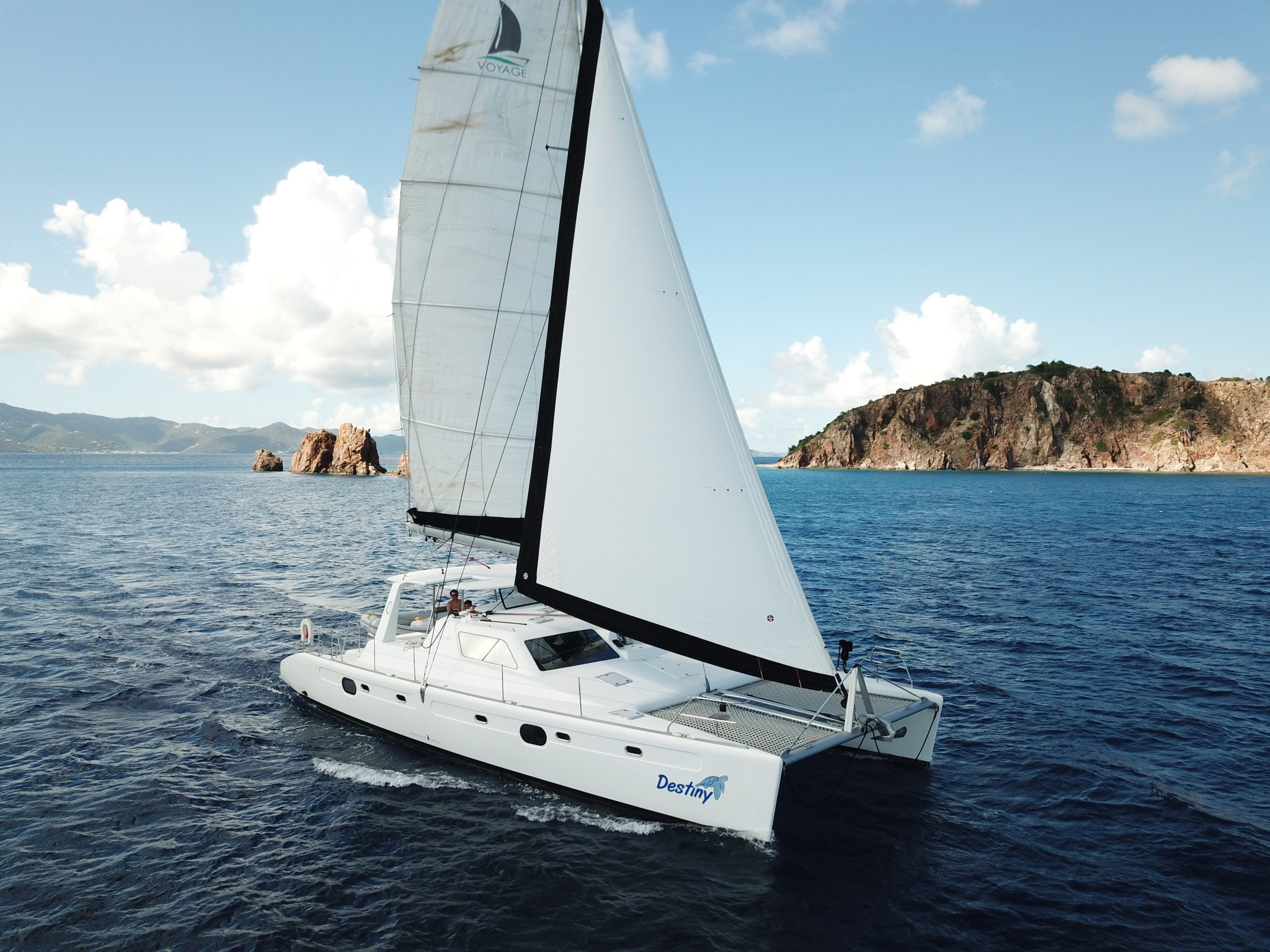 "Voyage 480 Sail Catamaran ""Destiny"""