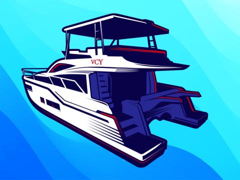 Virgin Charter Yachts signature power catamaran